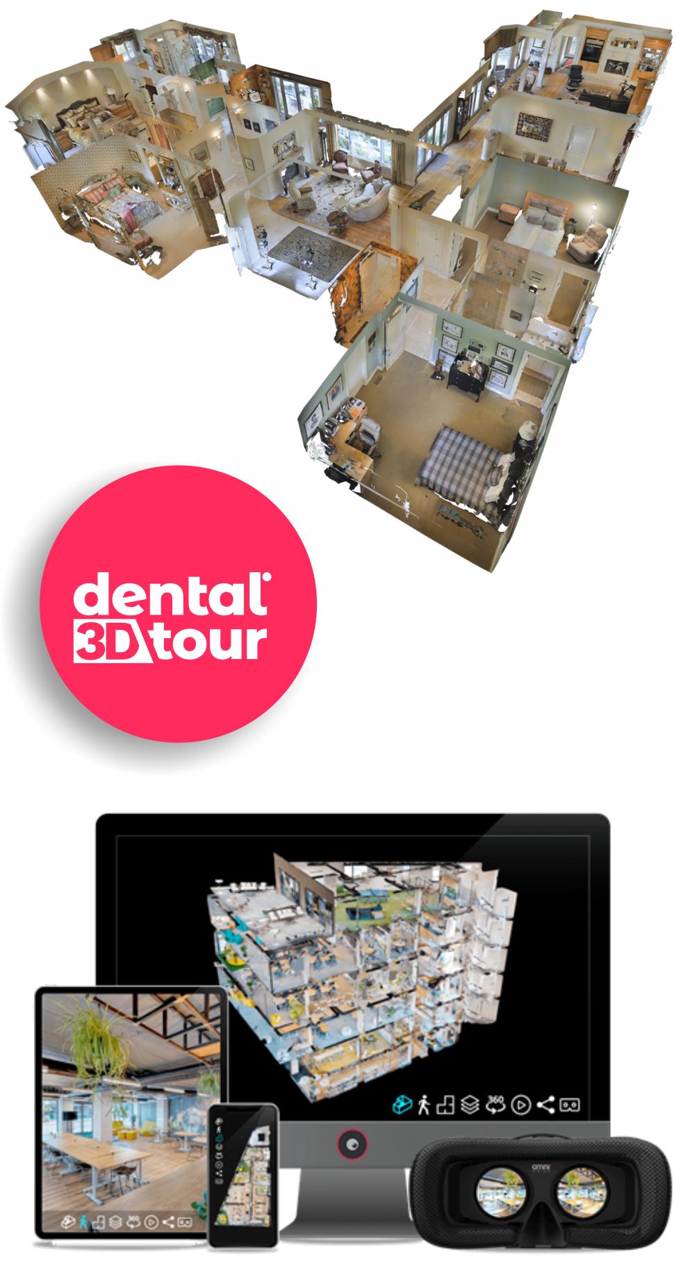 tururi virtuale pentru cabinete stomatologice